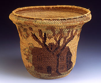 Old Indian House Basket