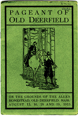 Pageant of Old Deerfield, Brochure