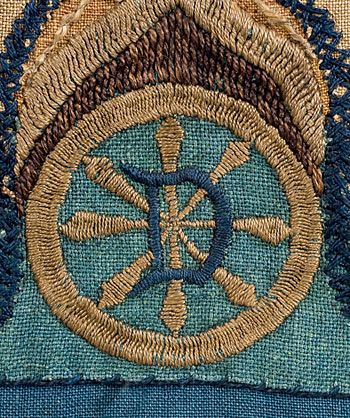 Deerfield Society of Blue & White Needlework