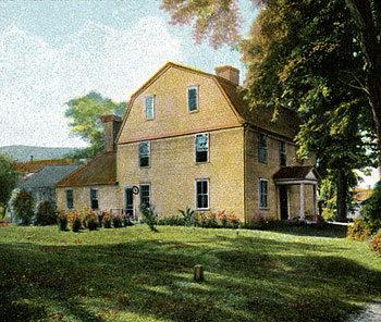 Deerfield Society of Blue and White Needlework Shop